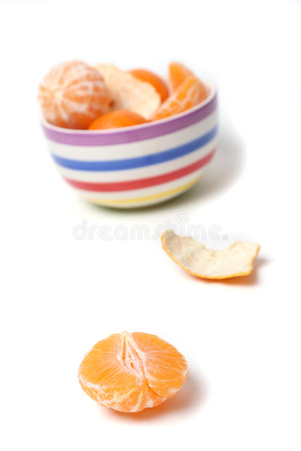 Mandarines zdjęcie stock