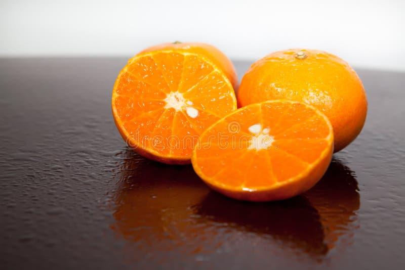 Mandarines délicieuses image stock