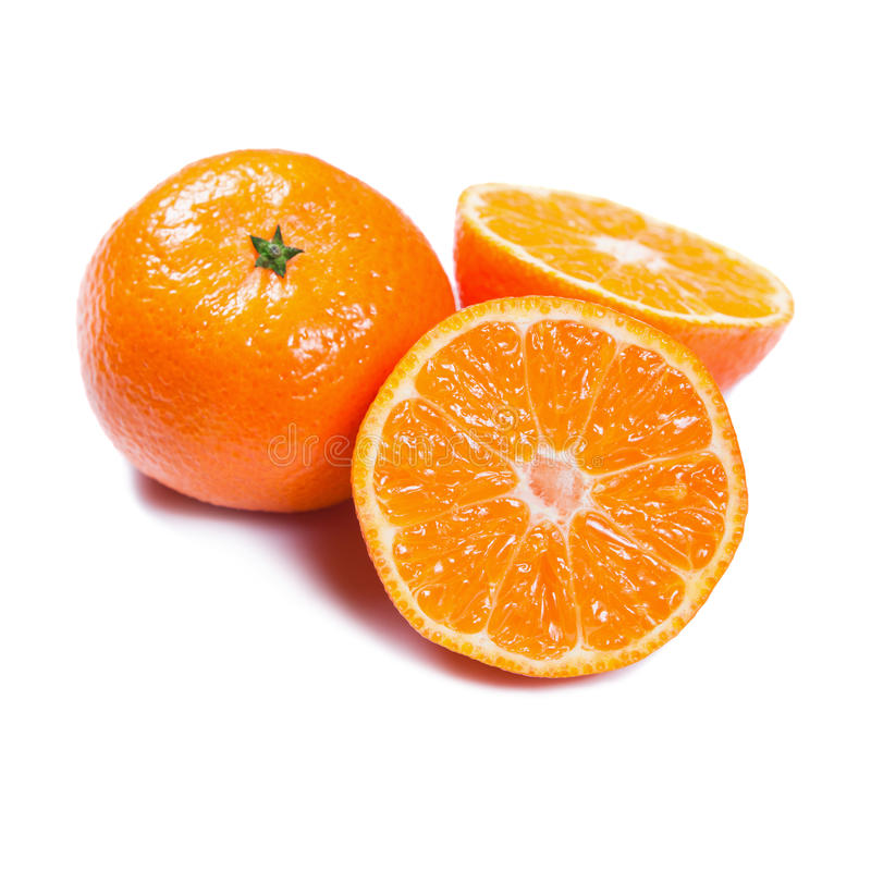 Download Mandarines D'isolement Sur Le Blanc Image stock - Image du photographie, peau: 56483631