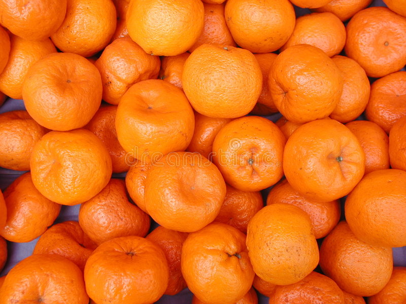 Mandarines - fond de fruit images stock