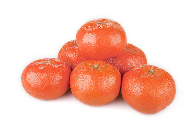 Mandarines lumineuses photos libres de droits