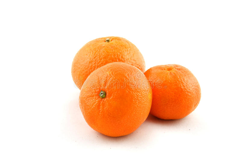 Mandarines mûres photo stock