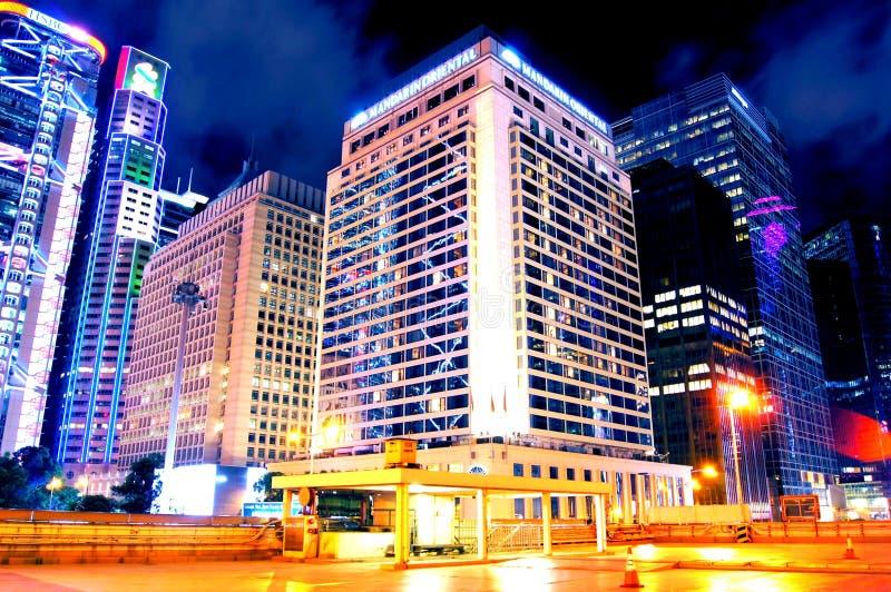 MandarinhotellHong Kong fem-stjärna hotell arkivbild