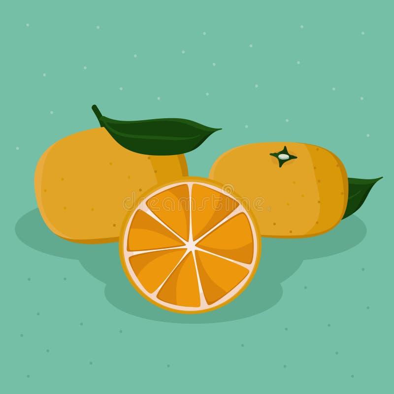 mandarini royalty illustrazione gratis