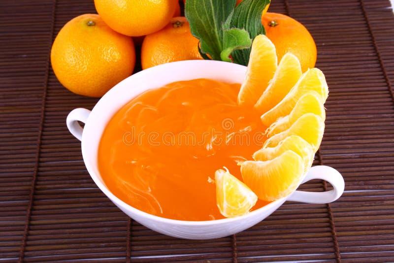 Mandarini della gelatina immagine stock