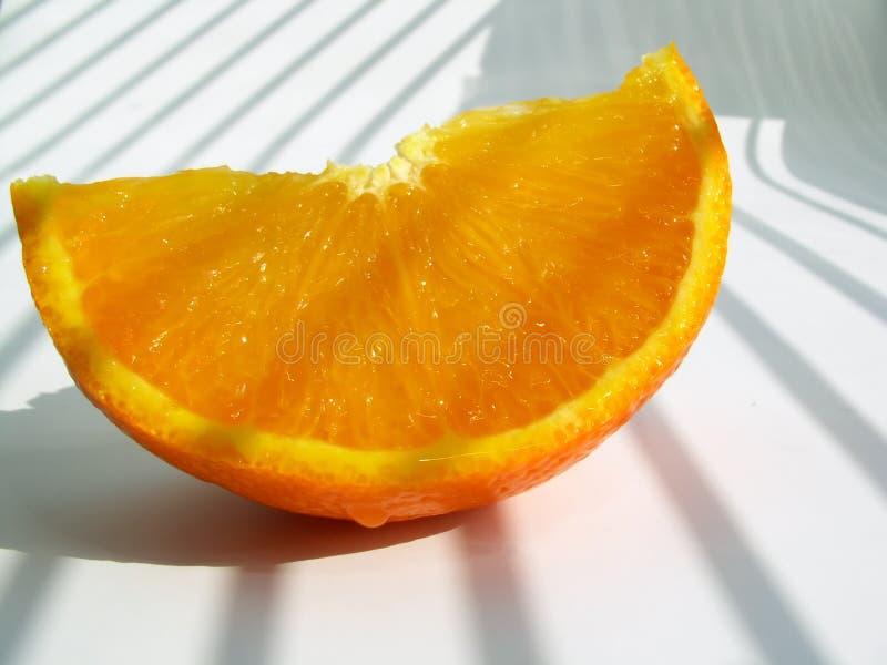 Mandarino - Fetta Immagini Stock