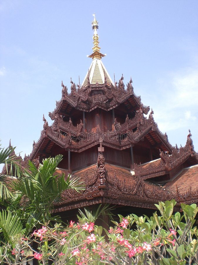 Mandarino Orientale del Chiang Mai fotografie stock