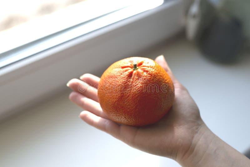 Mandarinuka ter beschikking stock afbeeldingen