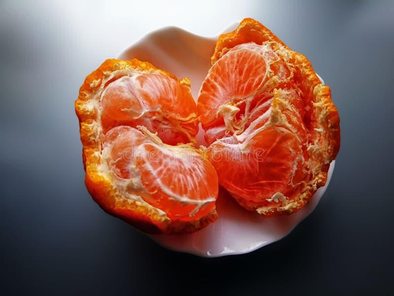 Mandaryn, tangerine zdjęcie stock