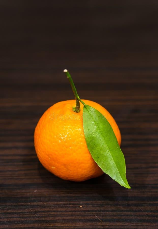 mandarynka dojrzała obraz stock