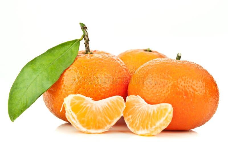 mandarynki świeża pomarańcze obrazy stock