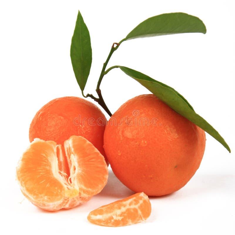 mandarynki pomarańcze fotografia stock