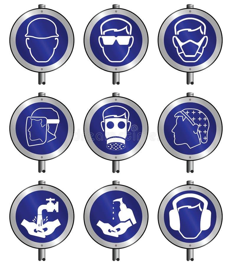 Download Mandatariusza Inkasowy Znak Ilustracja Wektor - Ilustracja złożonej z hardhat, inżynieria: 13335359