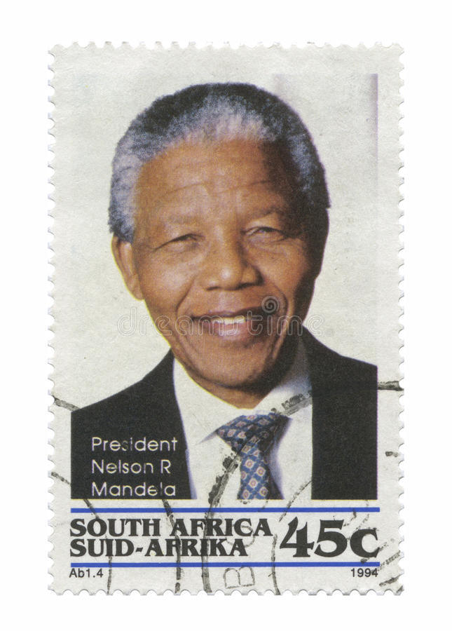 Download Mandela Нелсон редакционное стоковое изображение. изображение насчитывающей first - 20544739