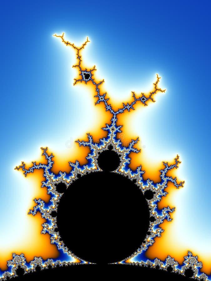 Mandelbrot Fractal lizenzfreie abbildung