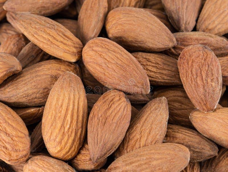 Mandeln nuts stockfoto