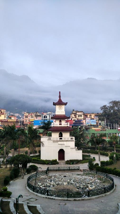 Mandi clock tower himachal Pardesh royalty free stock images