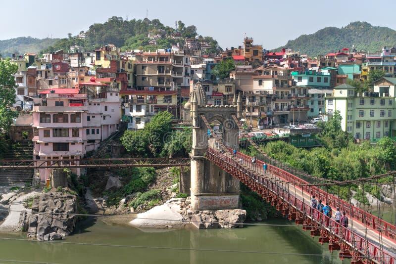 Mandi/India-26 04 2019: Wiktoria most i zdjęcia royalty free