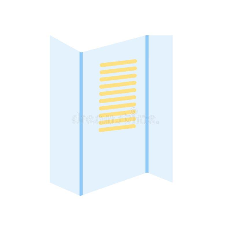 Mandi un sms alle linee segno e simbolo di vettore dell'icona isolati sul backgro bianco illustrazione di stock