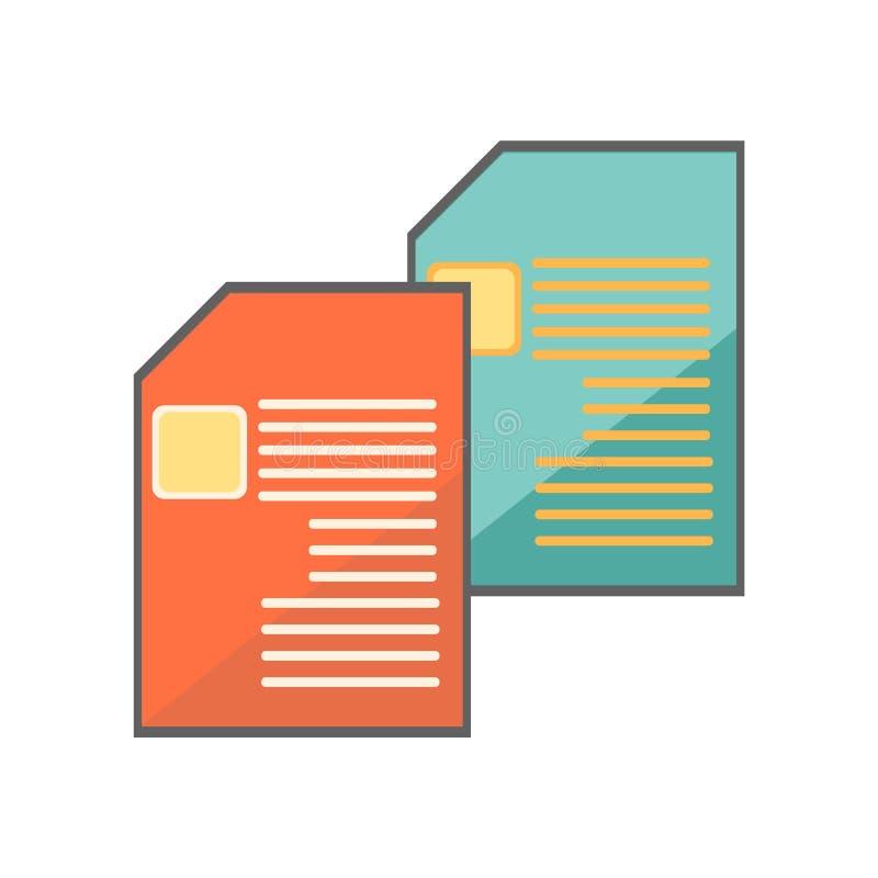 Mandi un sms alle linee segno e simbolo di vettore dell'icona isolati sul backgro bianco illustrazione vettoriale
