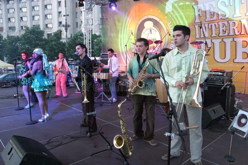 Mandinga Band stockfotos