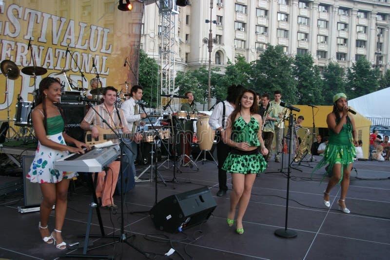 Mandinga Band lizenzfreie stockfotos