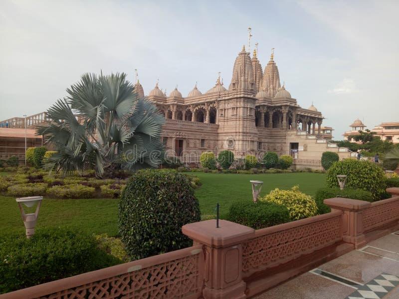 Mandir de Swaminarayan foto de archivo