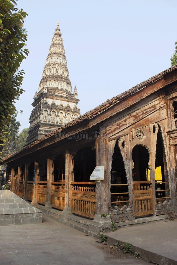 Mandir de Tulsi Bagh Ram, Pune, Maharashtra, Índia imagem de stock