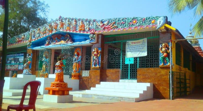 Mandir Vishnu в bhubaneswar стоковое изображение