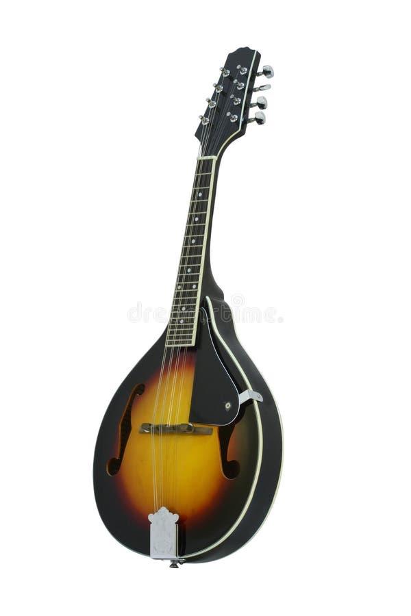 Mandolin. The image of mandolin under the white background royalty free stock photography