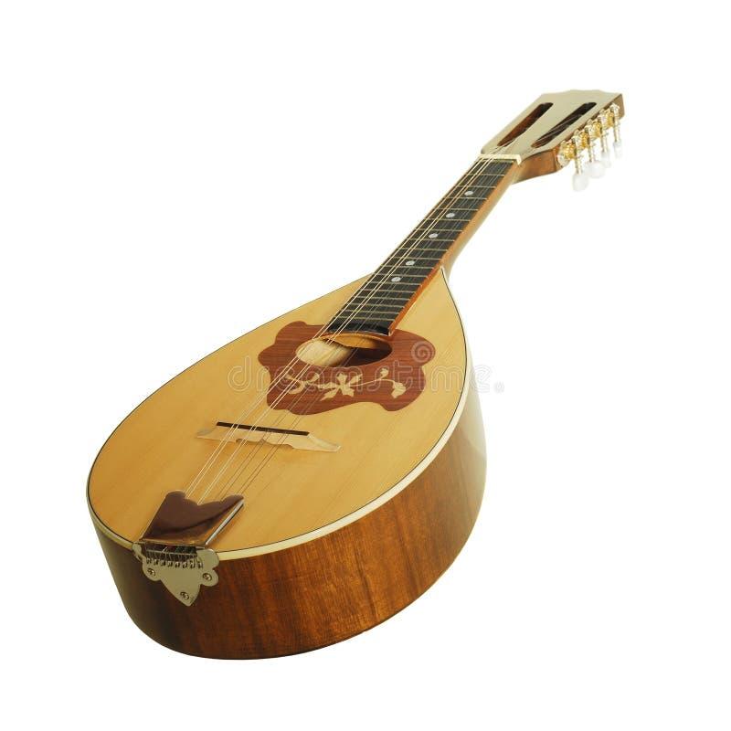 Mandolin. Isolated on white background royalty free stock image