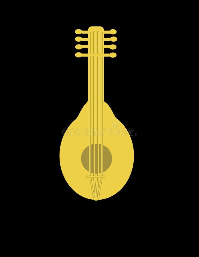 Download Mandolin иллюстрация штока. иллюстрации насчитывающей хорды - 490009