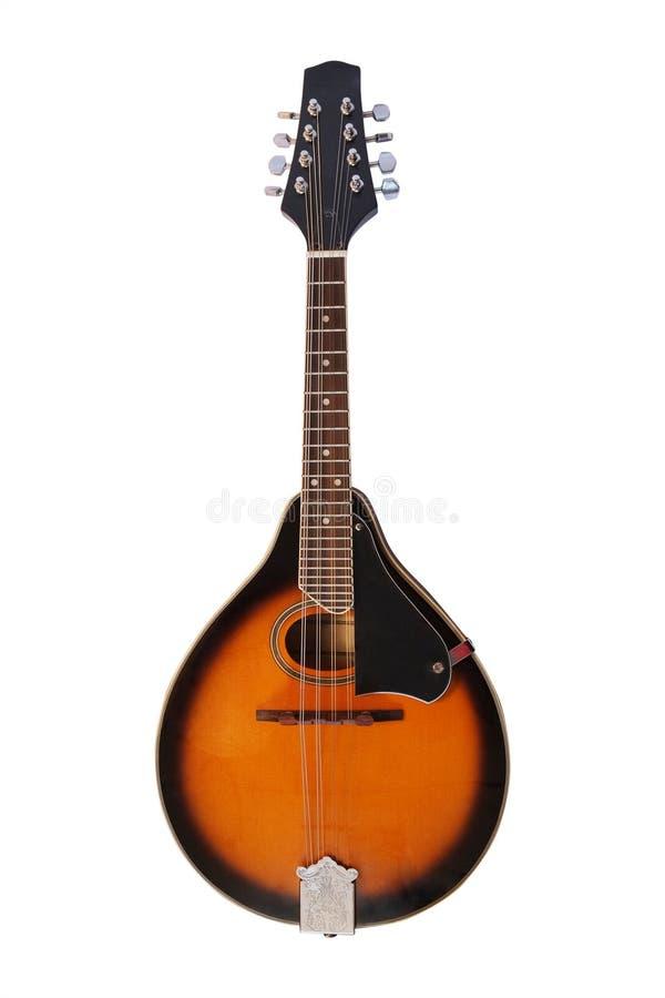 Mandolin. Isolated under the white background stock image