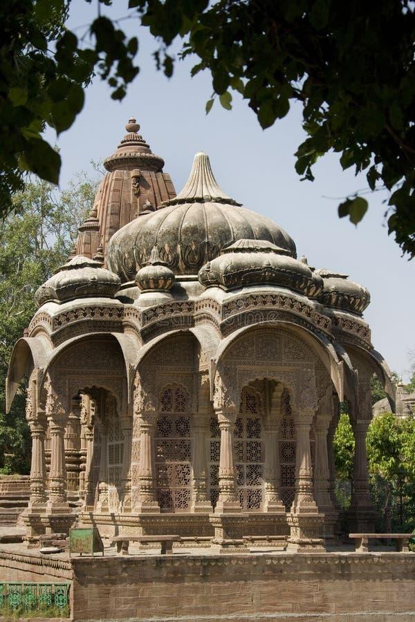Mandore cerca de Jodhpur - Rajasthán - la India fotografía de archivo libre de regalías