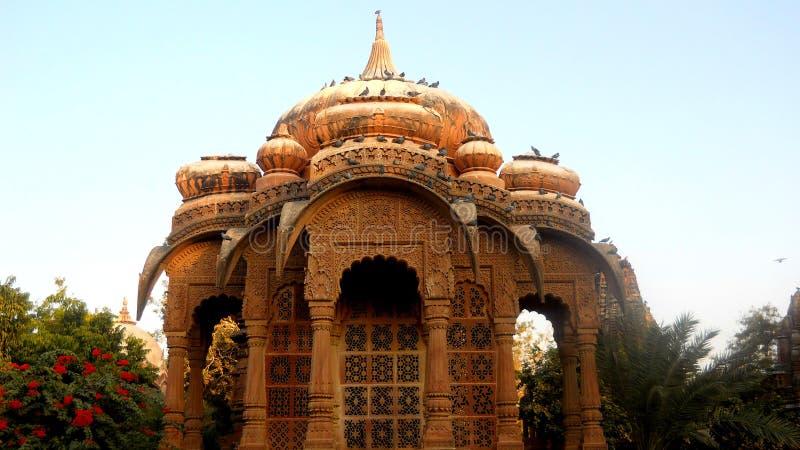 Mandore Jodhpur Rajasthán la India del tample de Deval fotos de archivo libres de regalías