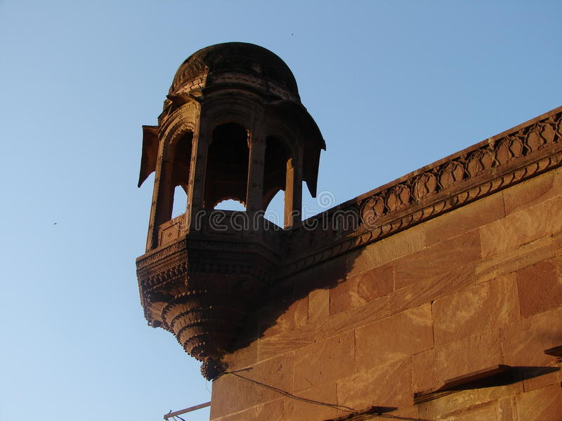 Mandore trädgårdar, Jodhpur, Rajasthan, Indien royaltyfri bild