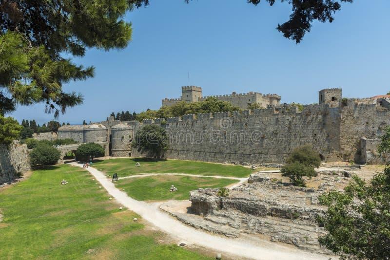 Mandraki, Rhodes photos libres de droits