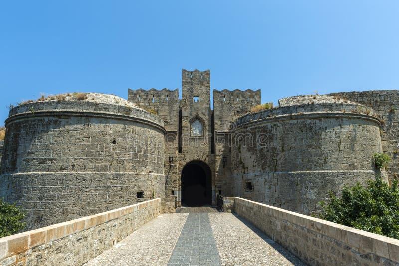 Mandraki, Rhodes image libre de droits