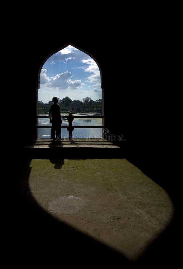 Mandu,中央邦 图库摄影