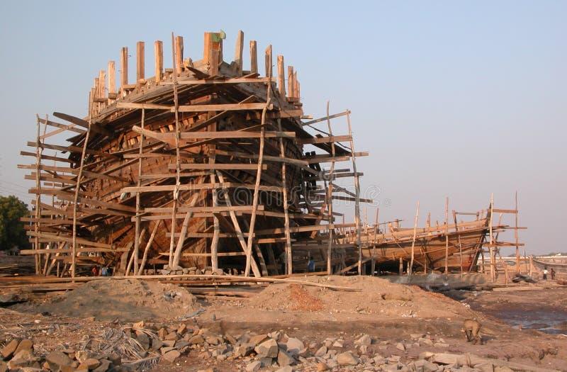 Download Mandvi shipyards stock image. Image of fashioned, stilts - 6603751