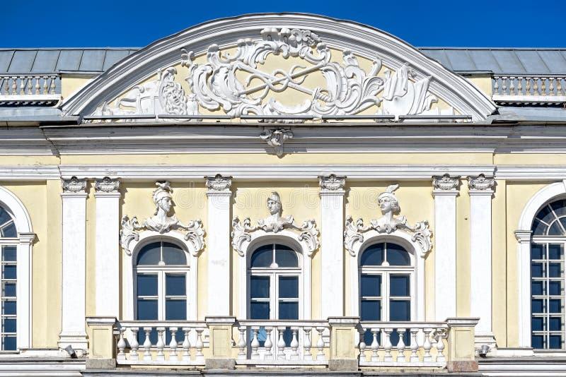 Manege du premier bâtiment de corps de cadet, St Petersbourg, Russ photo stock