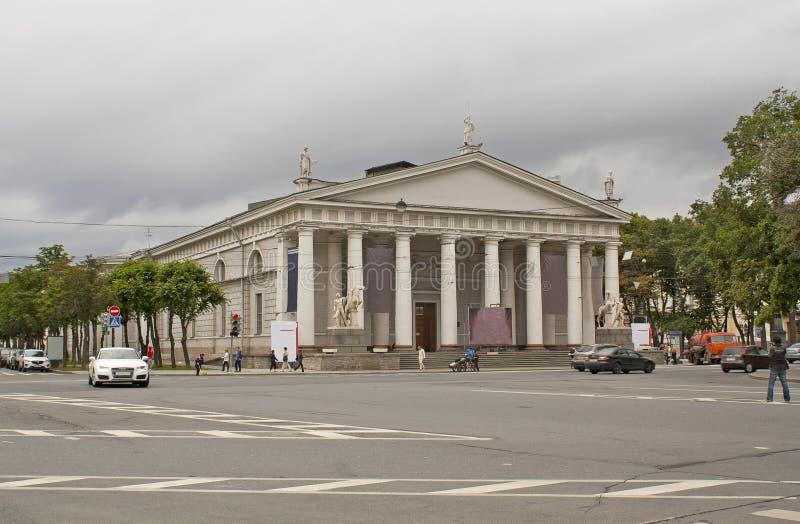 Download Manege (riding Hall) In Sanct-Petersburg Stock Image - Image: 25802895