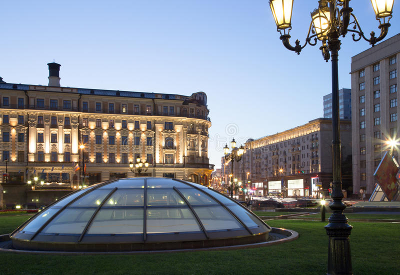 Download Manege Square At Night, Moscow, Russia Stock Photo - Image: 33459080