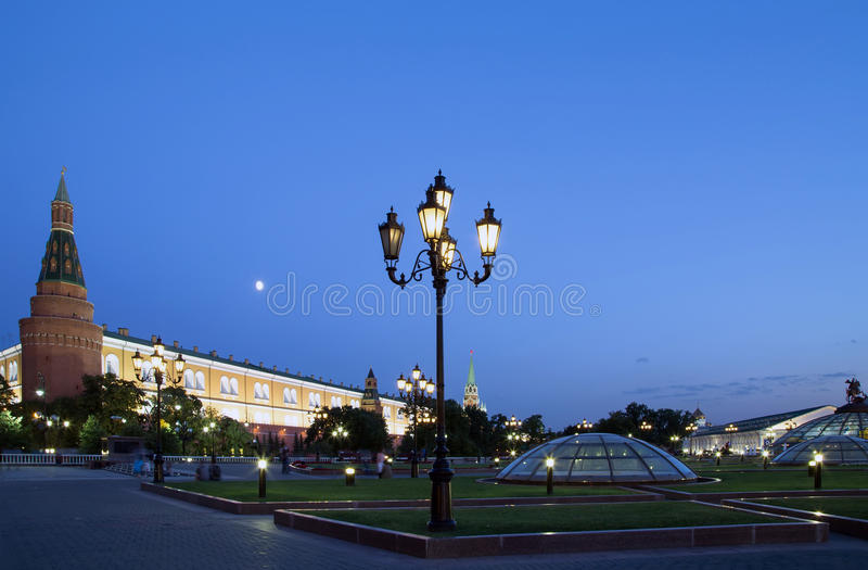 Download Manege Square At Night, Moscow, Russia Stock Image - Image: 39374247