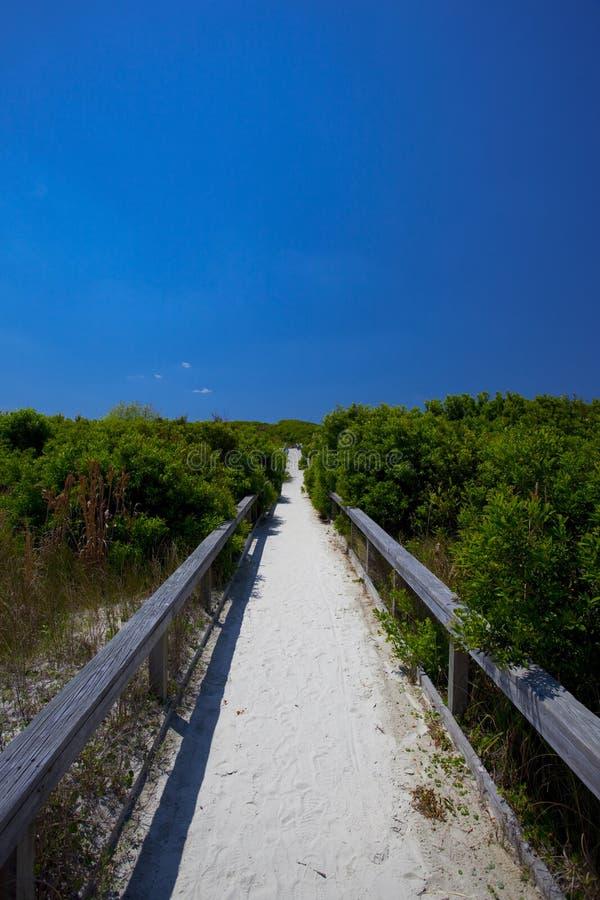 A maneira à praia foto de stock royalty free