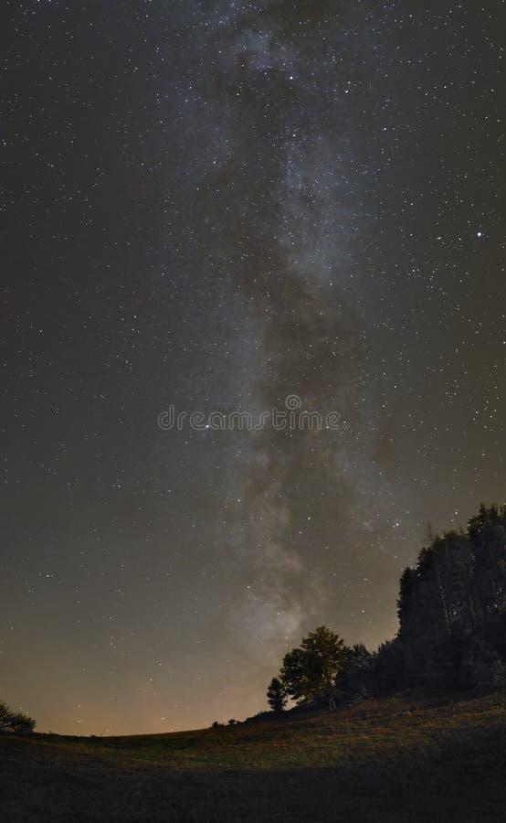 A maneira às estrelas fotografia de stock royalty free
