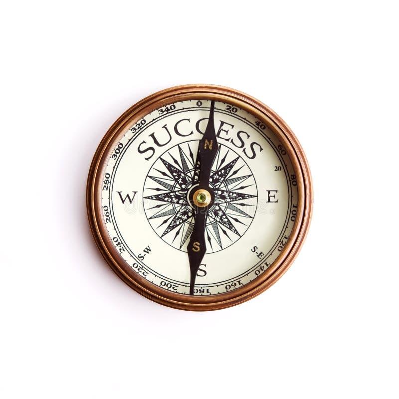 A maneira ao conceito do sucesso, com pancadinha do grampeamento foto de stock