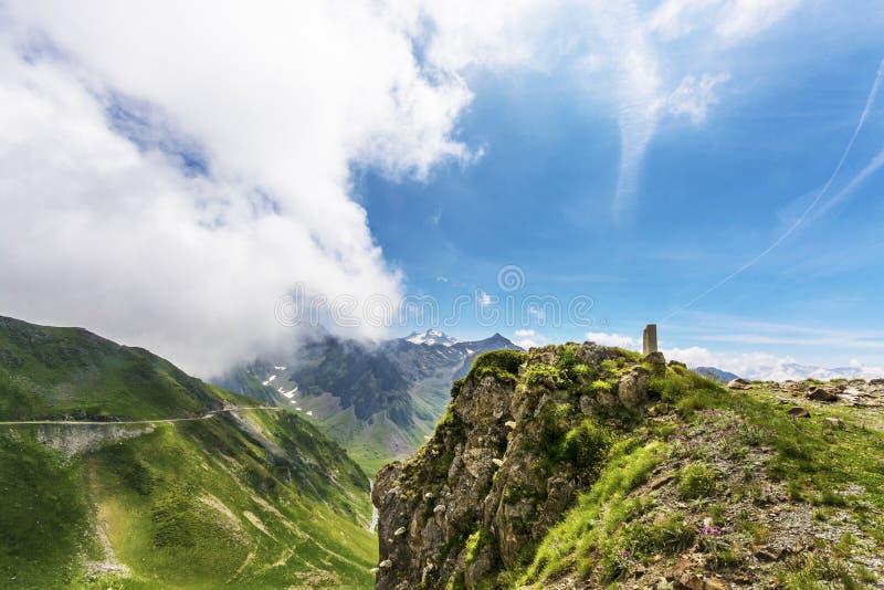 Maneira até Pic du Midi fotografia de stock royalty free