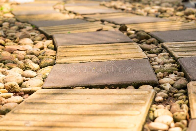 Maneira da caminhada do tijolo foto de stock royalty free