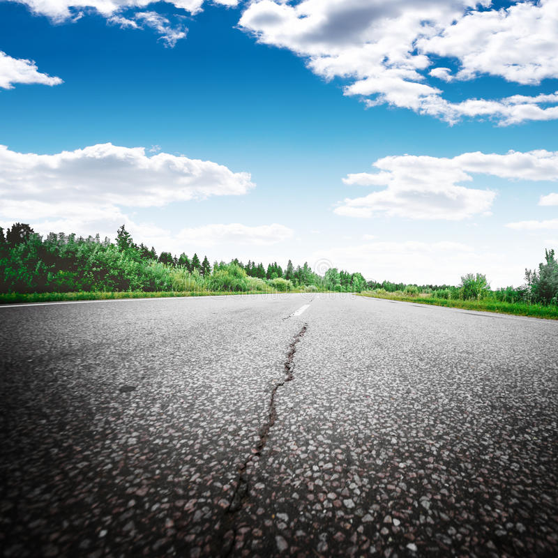 A maneira de estrada envia o sentido foto de stock royalty free